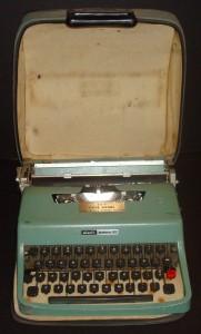 Dave Daniel Typewriter 2