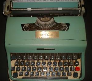 Dave Daniel Typewriter 3