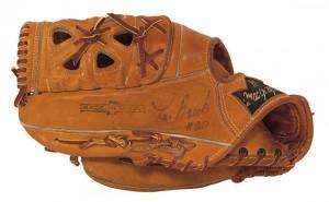 Lou Brock MacGregor Game-Used Glove